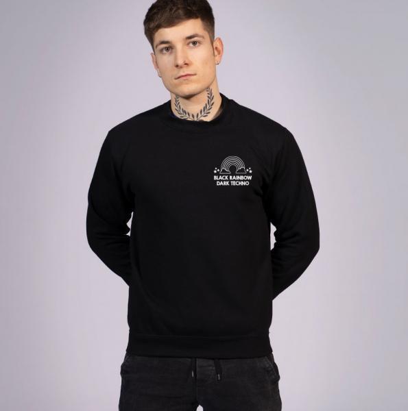 Black Rainbow Unisex Sweatshirt