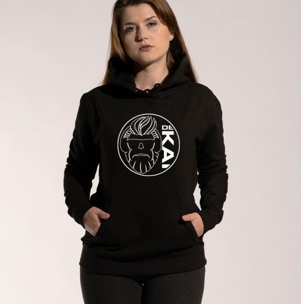 Dekai Logo - Damen Hoodie mit Kapuze