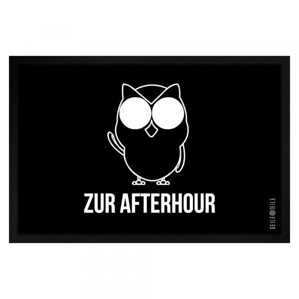 Zur Afterhour Fussmatte 60 x 40 cm