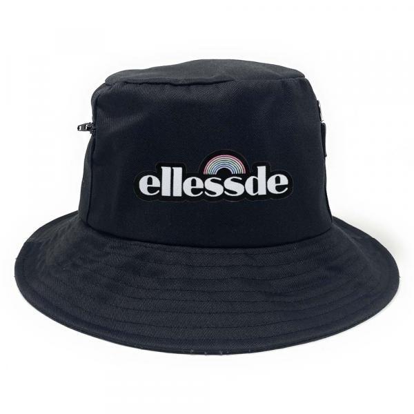 Ellessde Premium Fischerhut mit Seitentaschen
