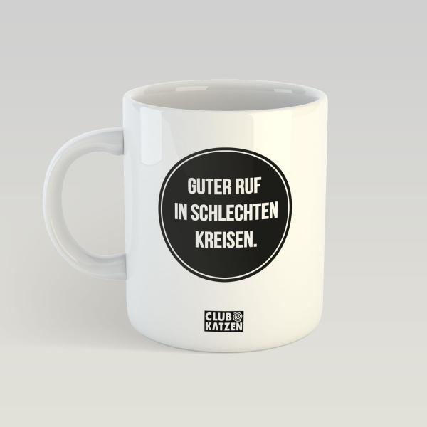 Guter Ruf - Weiße Tasse