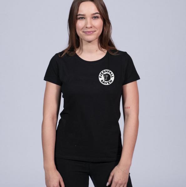 fjednraven Damen T-Shirt mit Rundhalsschnitt