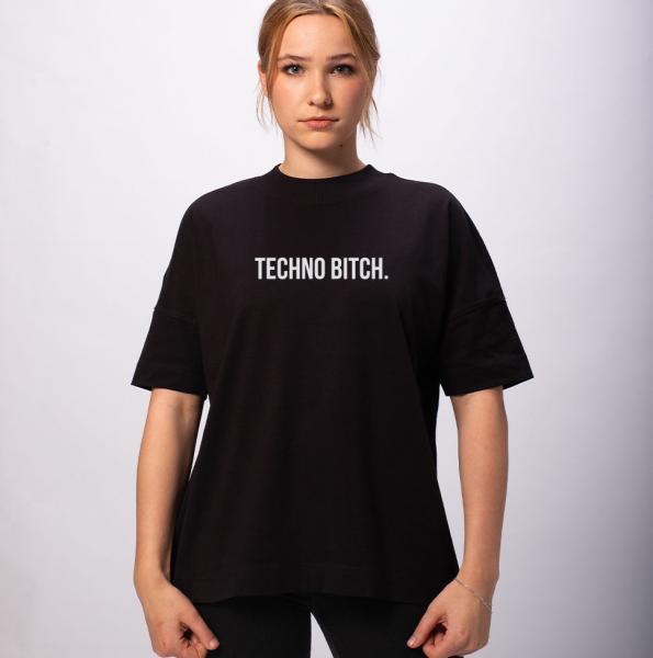 Techno B*tch Unisex Premium Oversize T-Shirt