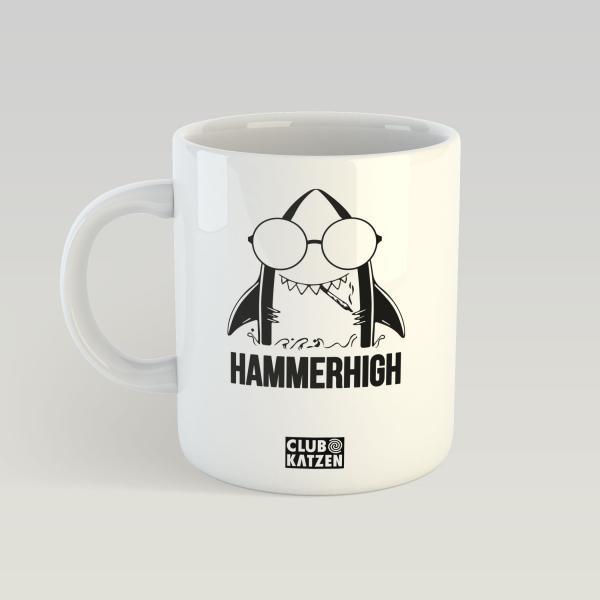 Hammerhigh - Weiße Tasse