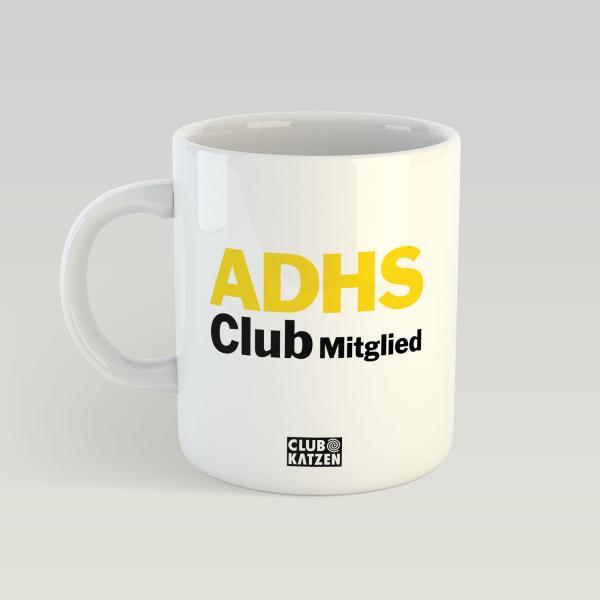 ADHS Club Weiße Tasse