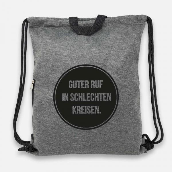Guter Ruf - Jersey Bag Anthrazit