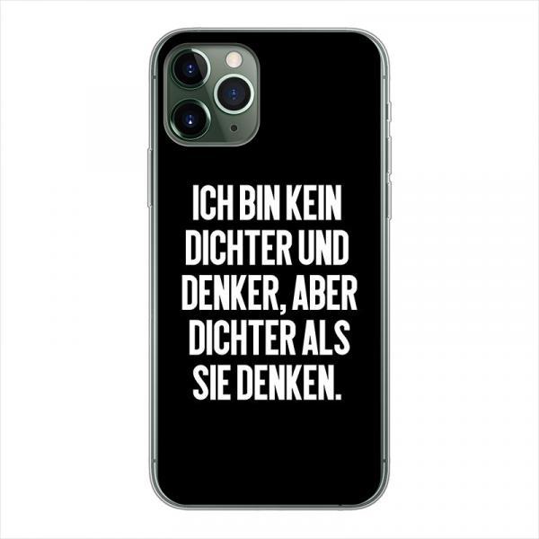 Dichter und Denker - Smartphone Soft Case