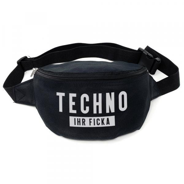Techno ihr Ficka Bauchtasche