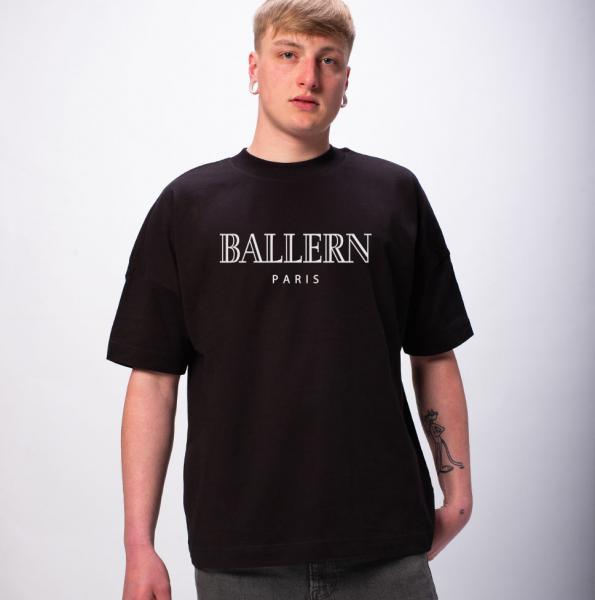 Ballern Paris Unisex Premium Oversize T-Shirt