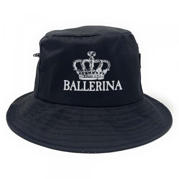 Ballerina - Premium Fischerhut mit Seitentaschen