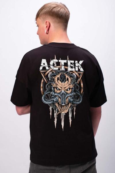 ACTEK Logo Unisex Premium Oversize T-Shirt