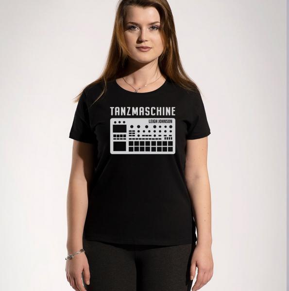 Leigh Tanzmaschine Damen T-Shirt mit Rundhalsschnitt