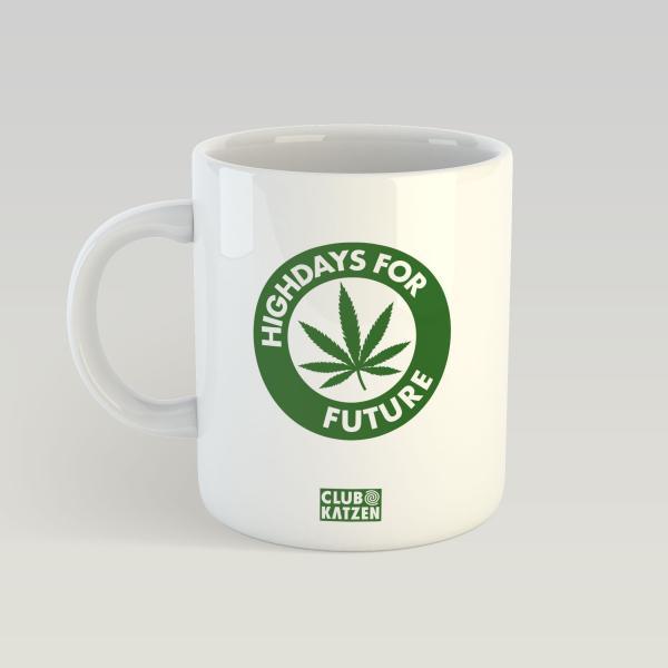 Highdays for Future - Weiße Tasse