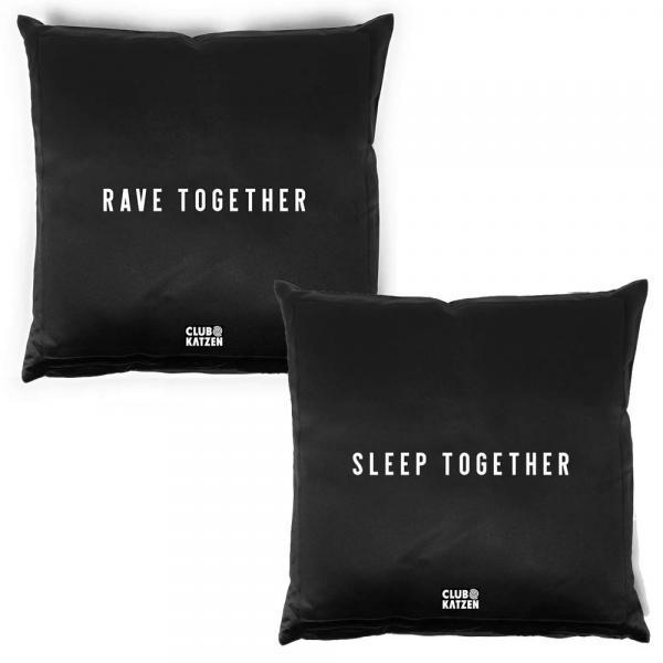 Kissen Set Rave Together - Sleep Together - Minimal