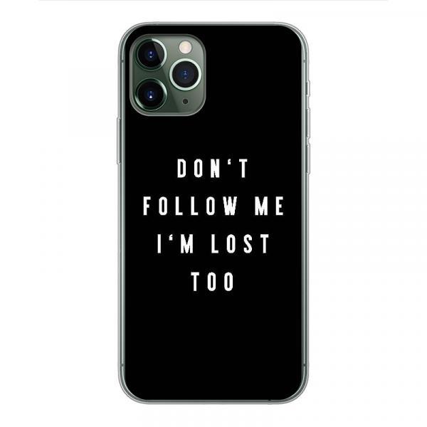 Don't Follow Me - Smartphone Soft Case