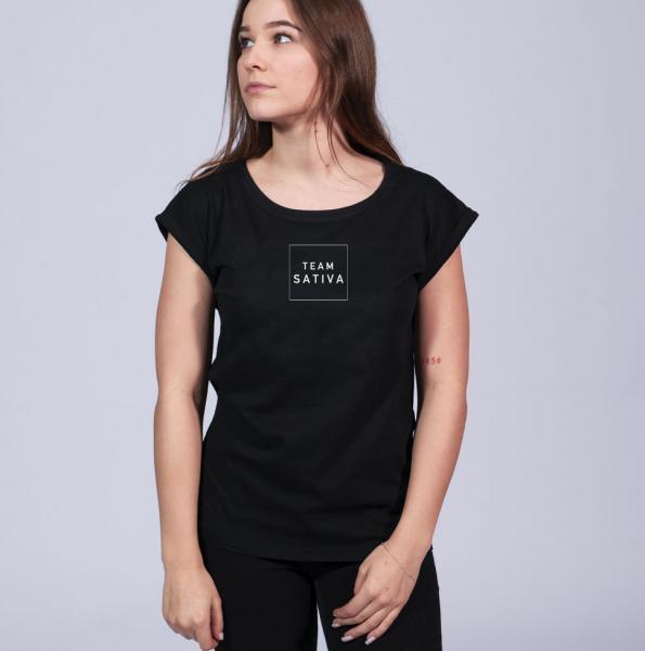 Team Indica Girls Shoulder Shirt Black