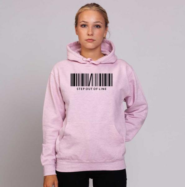 Step Out - Unisex Pastell Hoodie