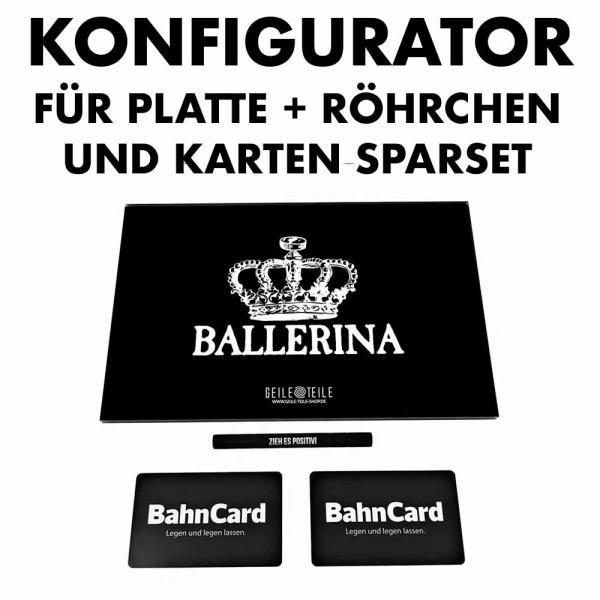 Sparset Konfigurator - Acrylplatte + Röhrchen + Karten von Geile Teile