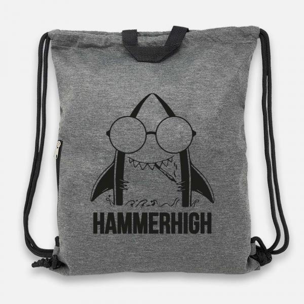 Hammerhigh - Jersey Bag Anthrazit