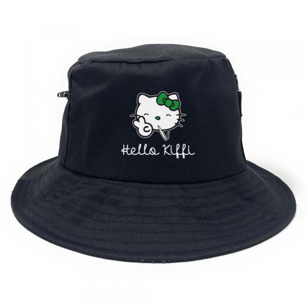 Hello Kiffi - Premium Fischerhut mit Seitentaschen