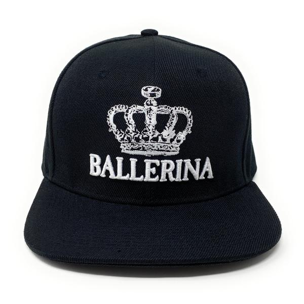 Ballerina - Snapback Cap mit Versteck Fach