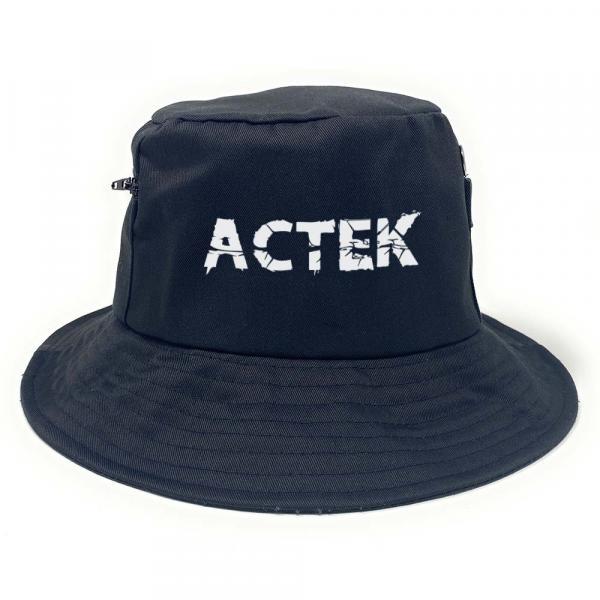 ACTEK - Premium Fischerhut mit Seitentaschen