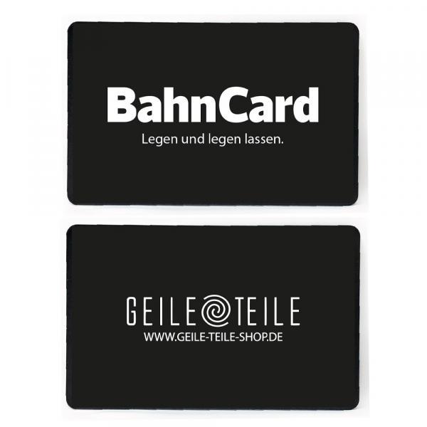 2er Set BahnCard von Geile Teile