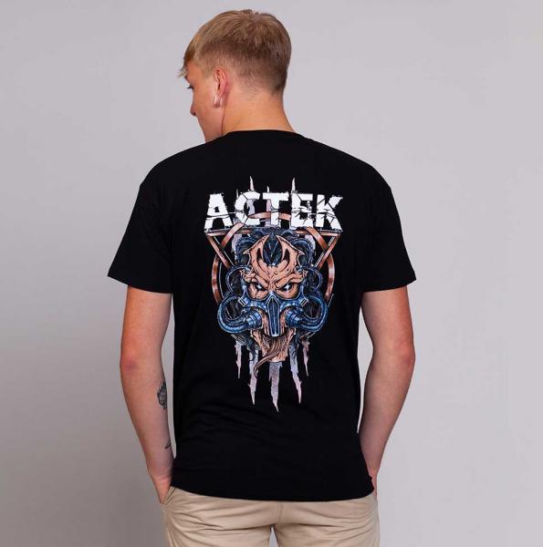 ACTEK Herren T-Shirt mit Rundhalsausschnitt