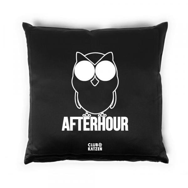 Afterhour - Kissen schwarz