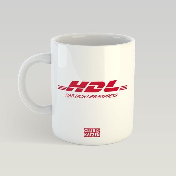 HDL - Weiße Tasse
