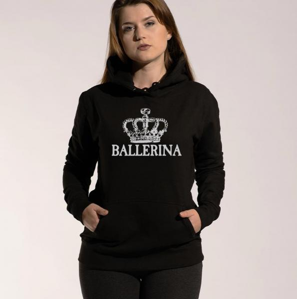 Ballerina - Damen Hoodie mit Kapuze