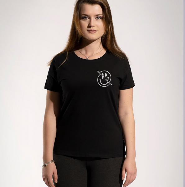 Face Damen T-Shirt mit Rundhalsschnitt