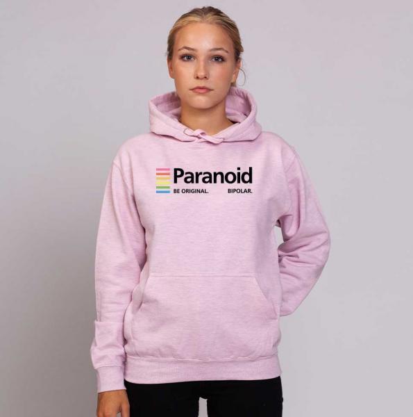 Paranoid - Unisex Pastell Hoodie
