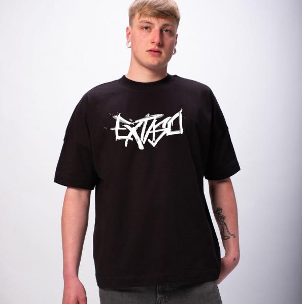 Extaso Logo Premium Oversize T-Shirt Unisex