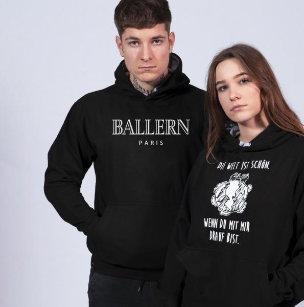 Ballern Paris Unisex Hoodie