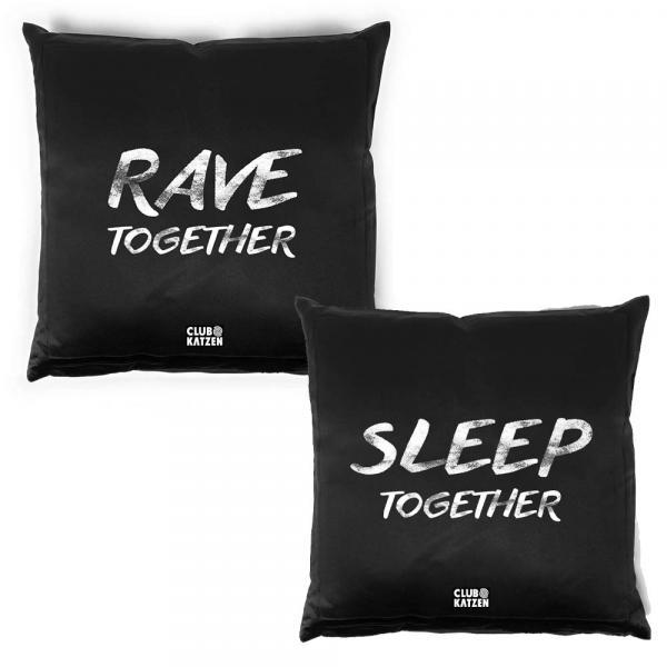 Kissen Set Rave Together - Sleep Together - Distortion