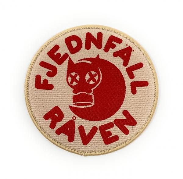 Fjednfall Raven Stoffaufnäher / Patch zum Aufbügeln, Größe 8cm