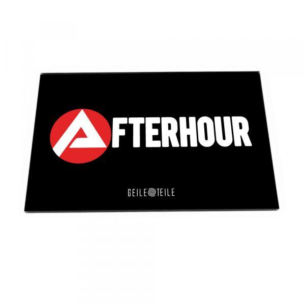 Agentur für Afterhour - Acrylplatte von Geile Teile