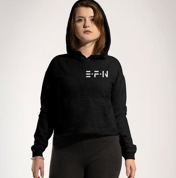 EFN - Damen Crop Hoodie