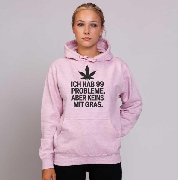 Keins mit Gras - Unisex Pastell Hoodie
