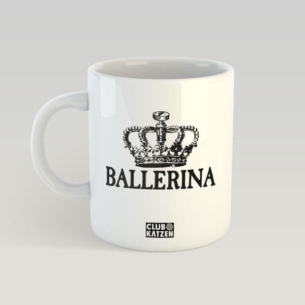 Ballerina - Weiße Tasse