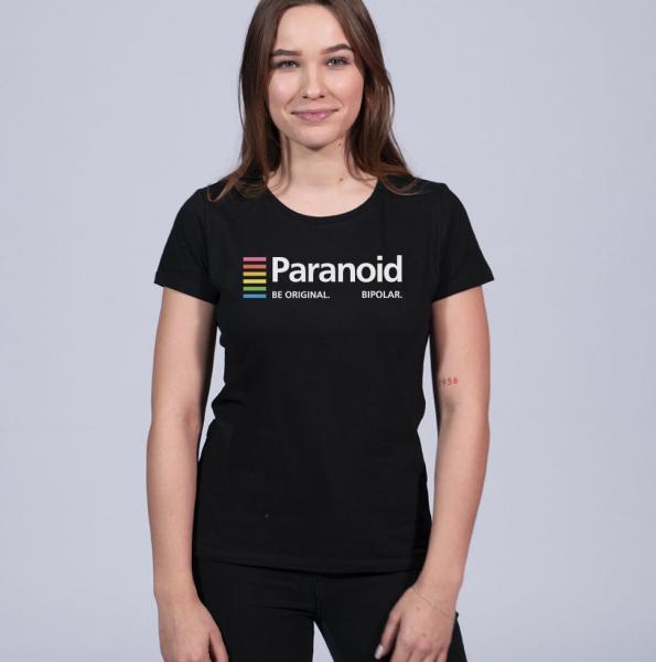 Paranoid Damen T-Shirt mit Rundhalsschnitt