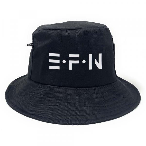 EFN - Premium Fischerhut mit Seitentaschen