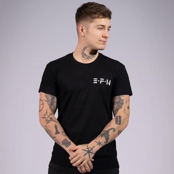EFN Herren T-Shirt mit Rundhalsausschnitt