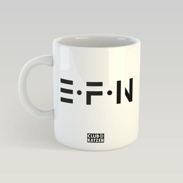 EFN - Weiße Tasse