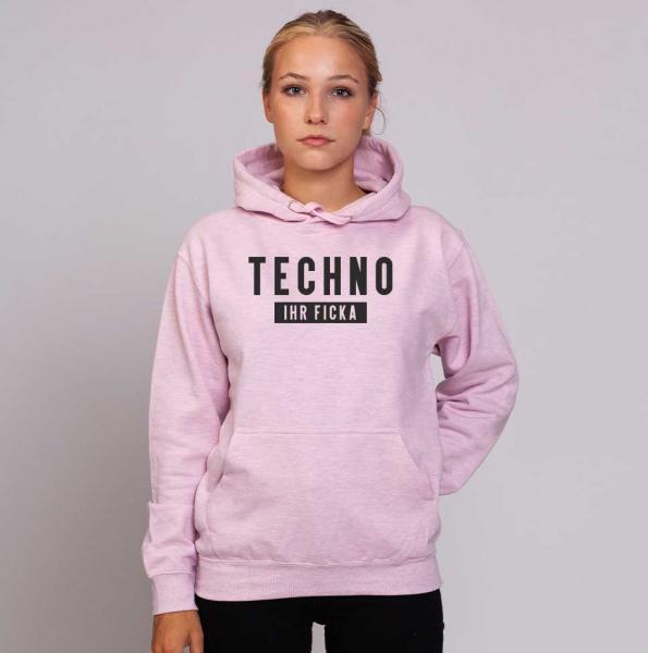Techno Ficka - Unisex Pastell Hoodie