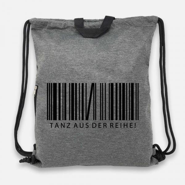 Tanz aus der Reihe - Jersey Bag Anthrazit