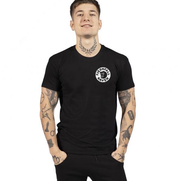 Fjednfall Raven Herren T-Shirt mit Rundhalsausschnitt
