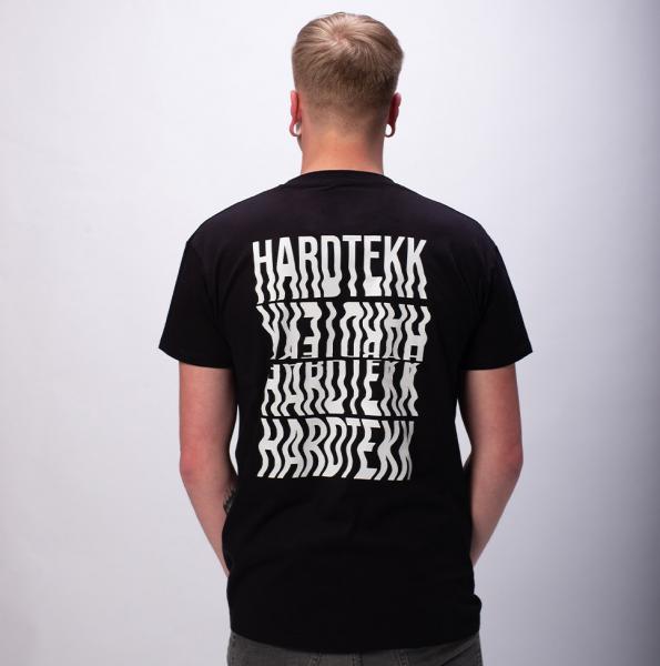 Hardtekk Herren T-Shirt mit Rundhalsausschnitt