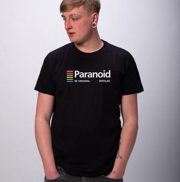 Paranoid Herren T-Shirt mit Rundhalsausschnitt